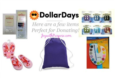 Dollar Days Deals discount items good for donating