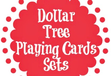 Dollar Tree Playing Cards you can order online