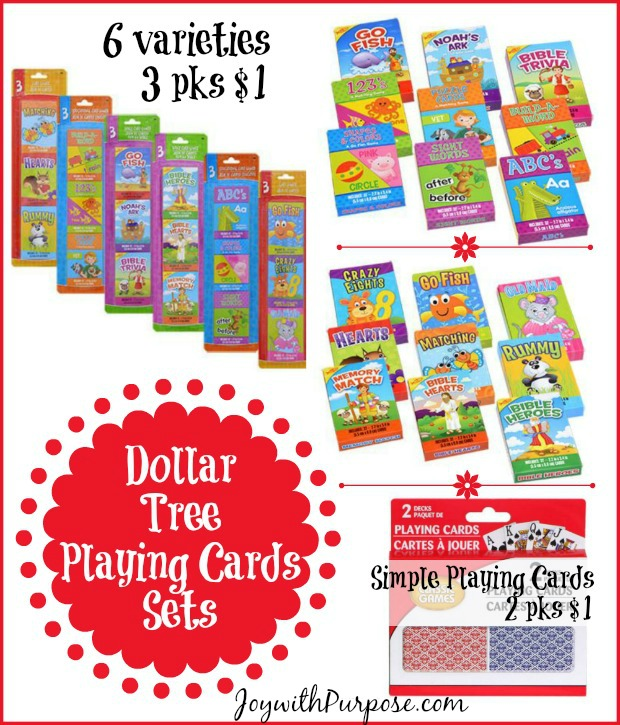 Dollar Tree Playing Cards