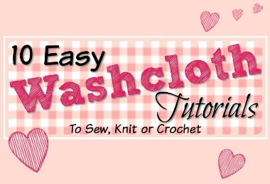 Easy Washcloth Tutorials