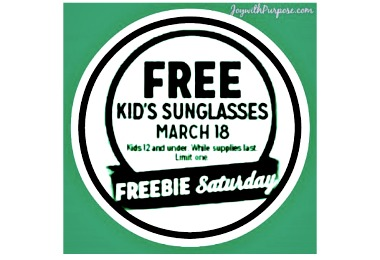 Kmart Freebie Saturday