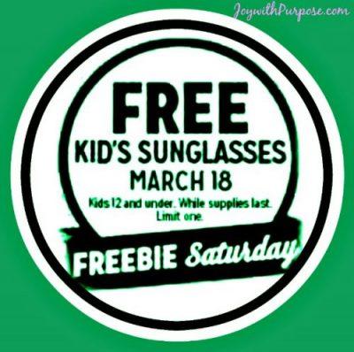 Kmart Freebie Saturday