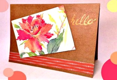 Upcycle Thrift Store Cards and Easily transform them into something special DIY Tutorial