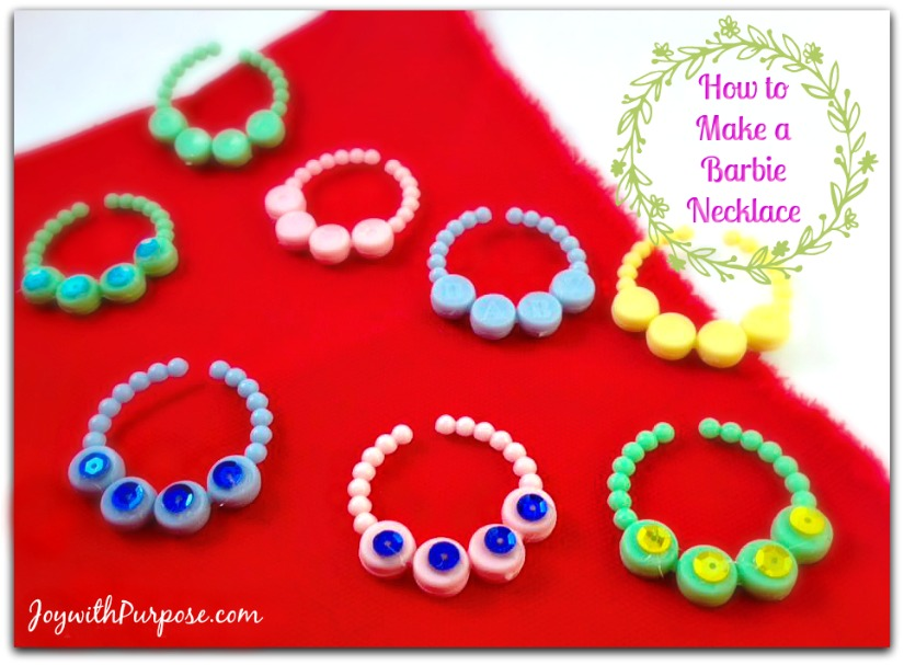 How to make a Barbie Necklace