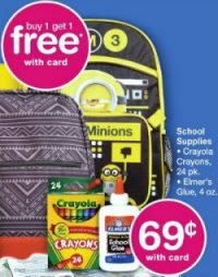 Back to School Sales for July 23 at Walgreens