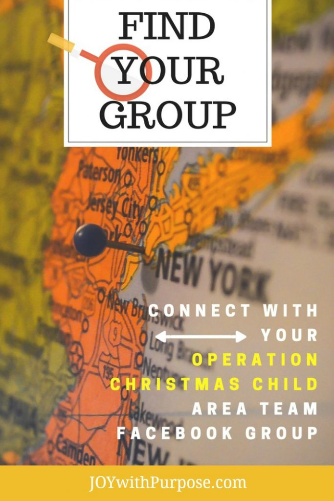 You can Find Your Group Connect with Your Operation christmas Child Area Team Facebook Group