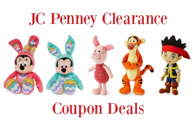 JC Penney Clearance Coupon Deals now through October 29