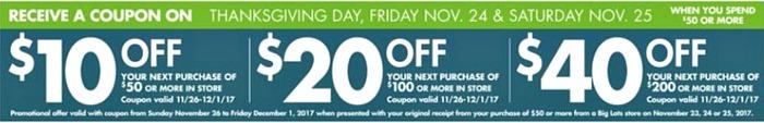 big lots Black Friday deals