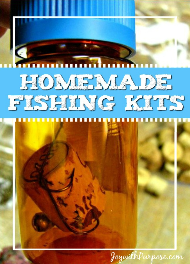 Homemade Fishing Kits you can assemble