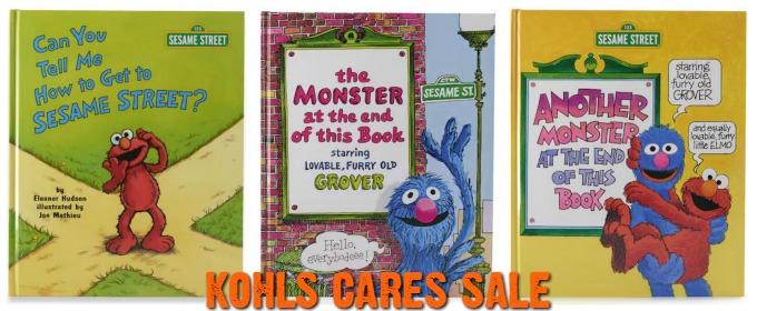 Kohls Cares Sale Sesame Street