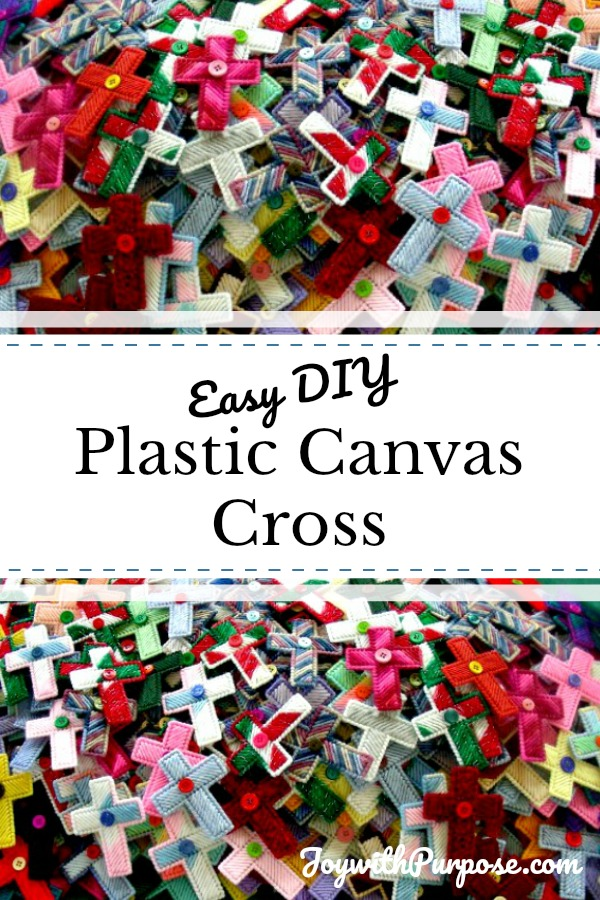 Easy Plastic Canvas Cross Craft