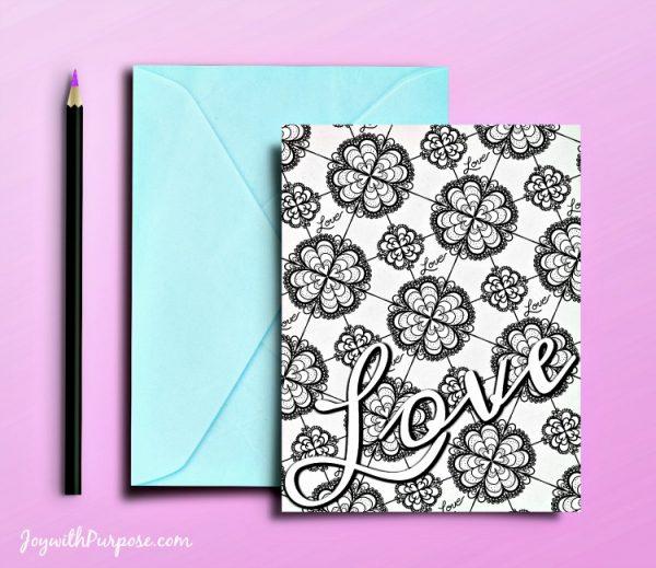 Free Printable Love Cards Love Design