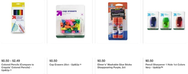 I've listed all the discount school supplies at various stores. This is the Target deals for July 8