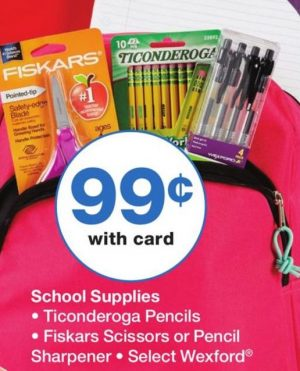 I list lots of stores where you can find budget school supply deals this week
